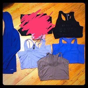5 Workout Tops (L/XL)